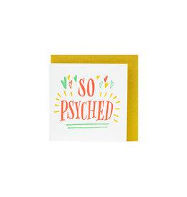 Ladyfingers Letterpress Tiny Psyched Letterpress enclosure