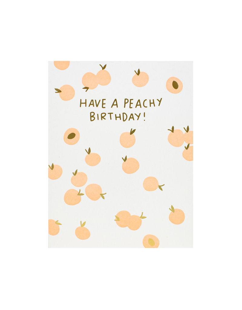 Hello Lucky Peachy Birthday