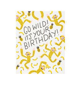 Hello Lucky Monkey Time Birthday