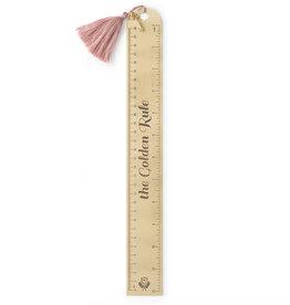 Designworks Golden Rule Dusty Pink Ruler