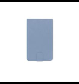 Designworks Vegan Leatherette Notepad - Cornflower