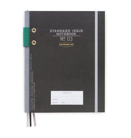 Designworks Standard Issue Notebook No. 3 Black
