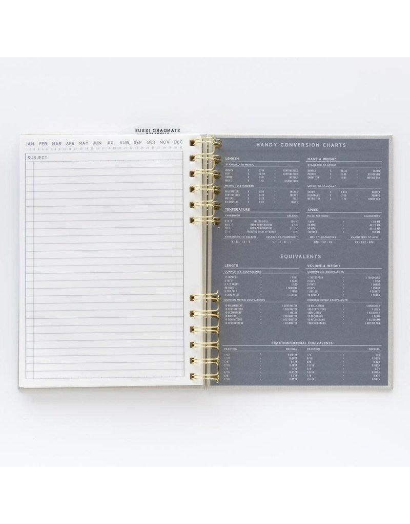 Designworks Standard Issue Notebook No. 12 Black