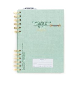 Designworks Standard Issue No.12 Green Hardcover Wire