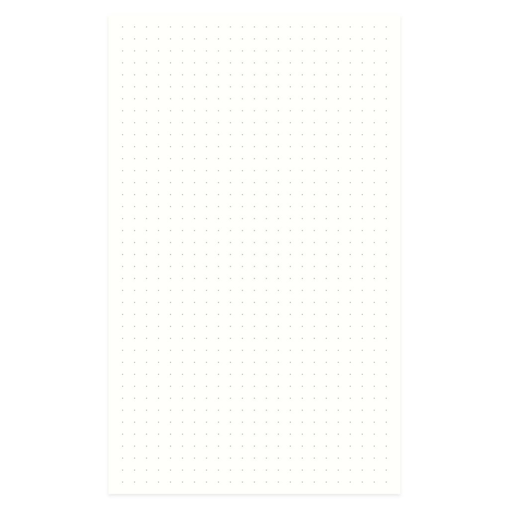 Designworks Standard Issue No.7 Burgundy Dot Grid