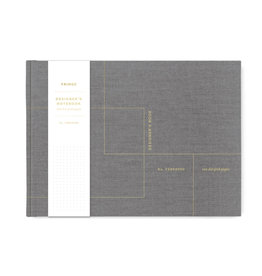 Fringe Cloth Designer Grid Notebook