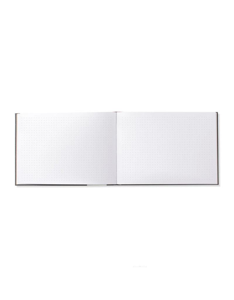 Fringe Cloth Designer Grid Notebook