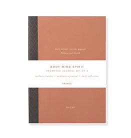 Fringe Body, Mind, Spirit Activity books - Set of 3