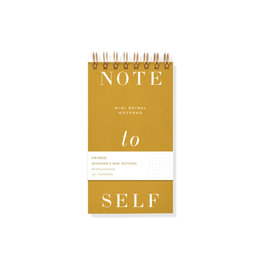 Fringe Note to Self Mini Notepad