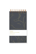 Fringe figure mini notepad