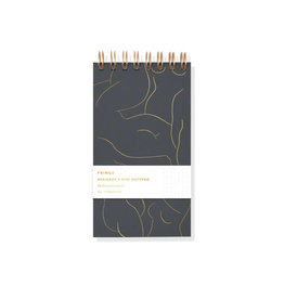 Fringe figure mini notepad