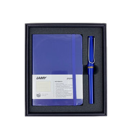 Lamy Gift Set A6 Soft Cover Safari Blue F