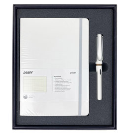 Lamy Gift Set A5 Soft Cover Safari White F