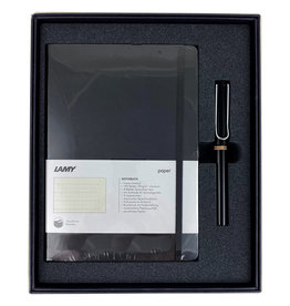 Lamy Gift Set A5 Soft Cover Safari Black F