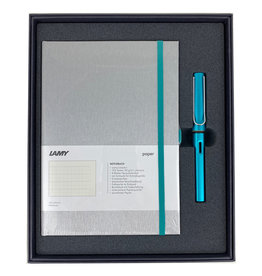 Lamy Gift Set A5 Hard Cover Al Star Turmaline F