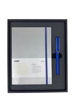 Lamy Gift Set A5 Hard Cover Al Star Ocean Blue F