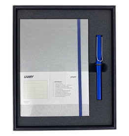 Lamy Gift Set A5 Hard Cover Al Star Ocean Blue F