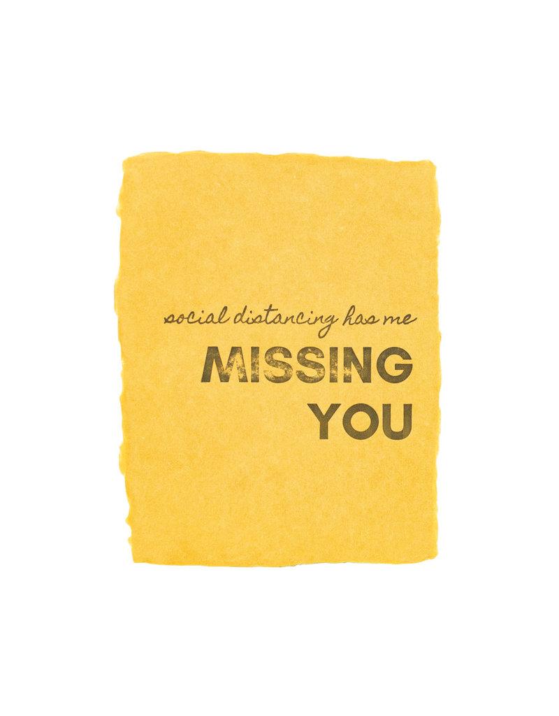 Paper Baristas Missing You social distancing