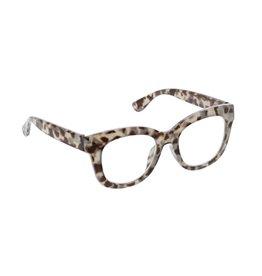 Peepers Center Stage - Grey Tortoise Blue Light Eyeglasses +0.00