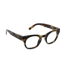 Peepers Nordic Noir - Tortoise Blue Light Eyeglasses +1.00
