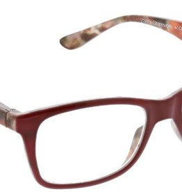 Peepers Stonework - Red Eyeglasses +2.25
