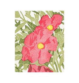 PushMePullYou Press Cistus Letterpress Card