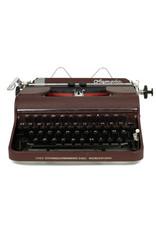 Olympia Olympia SM-1 Burgundy Typewriter