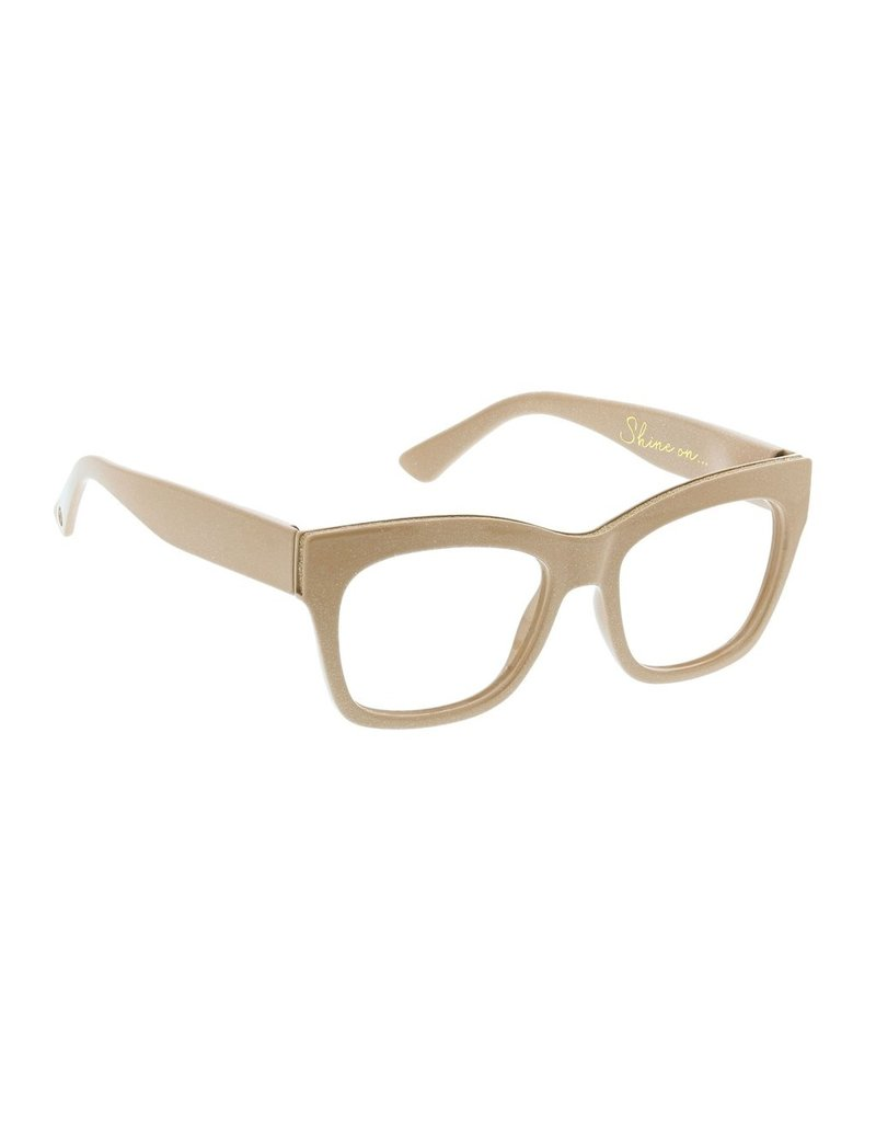 Peepers Shine On - Taupe Blue Light Eyeglasses
