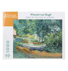 Pomegranate Van Gogh: Bank of Oise at Auvers Puzzle 1000 pc