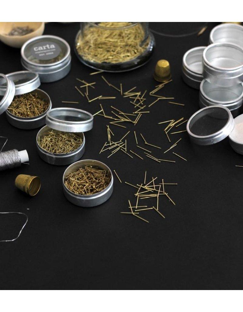 studio carta Gold Sewing Pins
