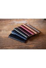 Goby Design Leather Pocket Notebook - Ink Blue