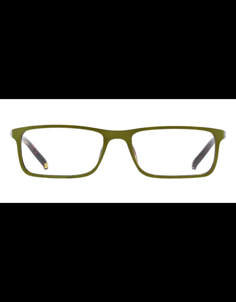 Peepers Adorn - Green Tortoise Eyeglasses