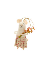 Indaba Posy Mouse Ornament