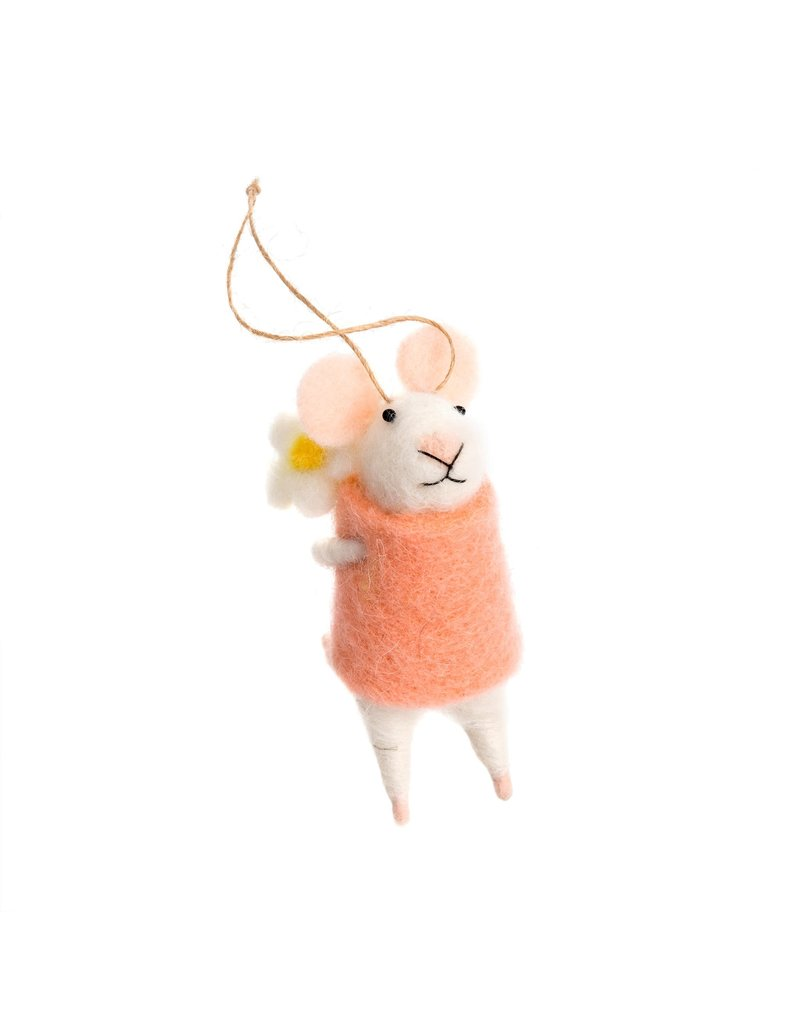 Indaba Elodie Mouse Ornament