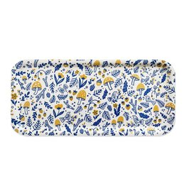 Paper Parasol Press Folk Forest Blue & Yellow Long Tray