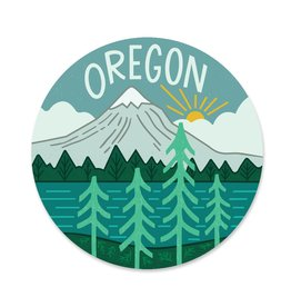 Paper Parasol Press Oregon Sticker