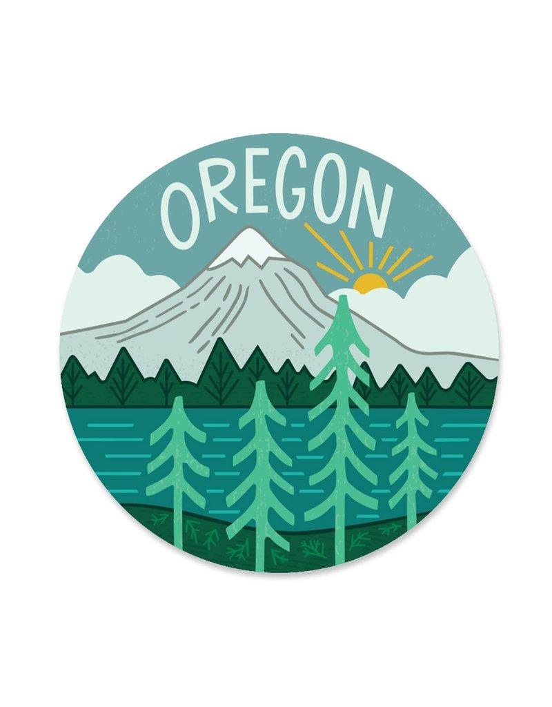 Paper Parasol Press Oregon Sticker
