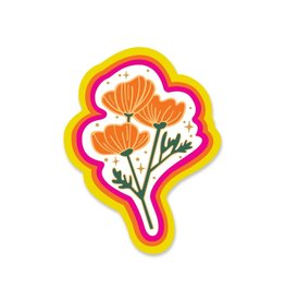 Paper Parasol Press Poppy Magic Sticker