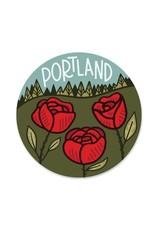 Paper Parasol Press Portland Sticker