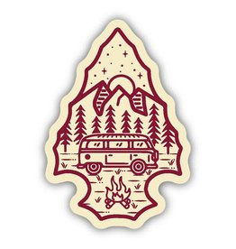 Stickers Northwest Arrowhead Bus Sticker