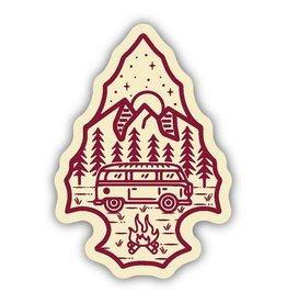 Stickers Northwest Arrowhead Bus Sticker