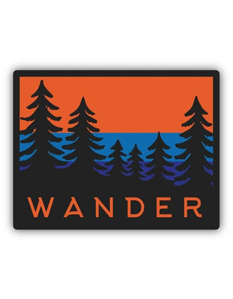Stickers Northwest Wander Trees Sticker