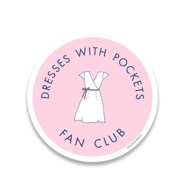 Little Goat Paper Co. Dresses With Pockets Sticker
