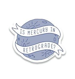 Little Goat Paper Co. Mercury Retrograde Sticker