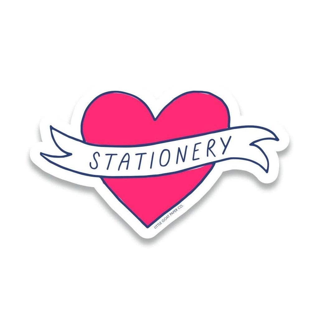 Little Goat Paper Co. Stationery Love Sticker