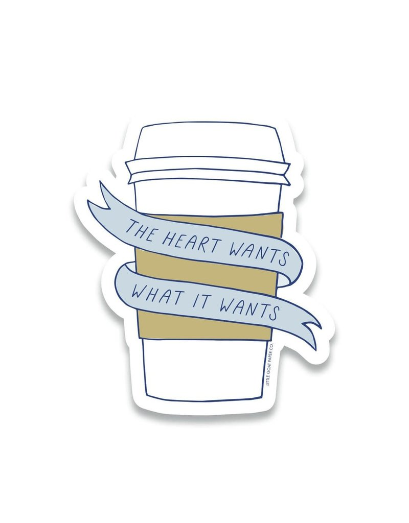 Little Goat Paper Co. Coffee Sticker