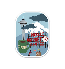 Seattle Die Cut Sticker