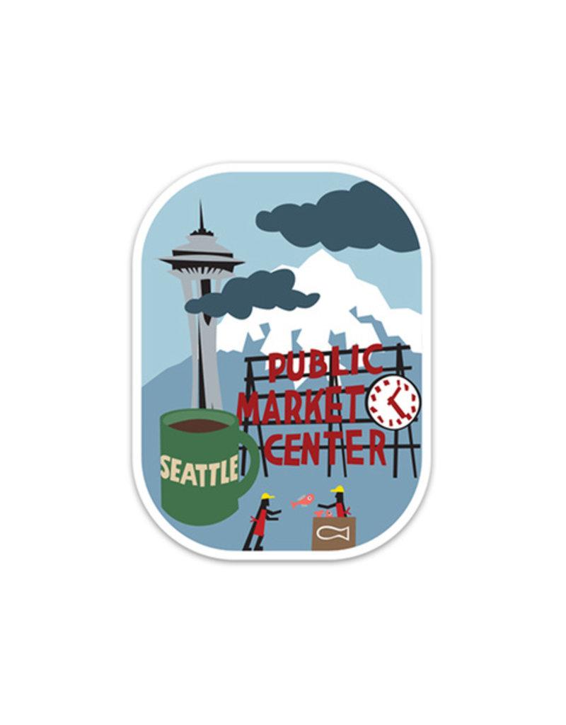 Seattle Die Cut Sticker