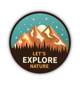 Stickers Northwest Let's Explore Nature