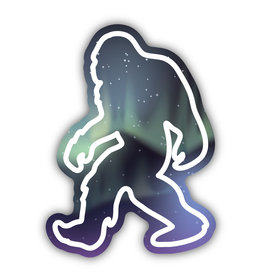 Stickers Northwest Northern Lights Sasquatch Sticker